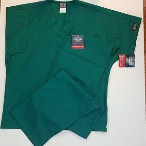 NWT Cherokee Workwear Unisex Scrubs Set (Sz Small)